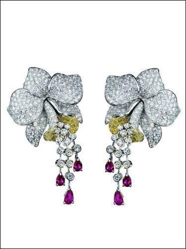 卡地亚高级珠宝:惊艳 奢华