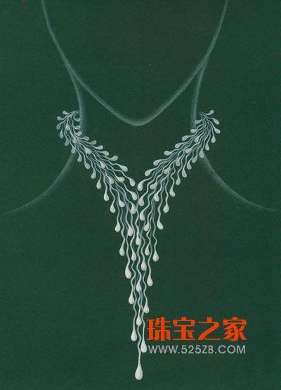 珠宝首饰手绘技法,珠宝首饰手绘课程,手绘珠宝首饰设计草图,珠宝