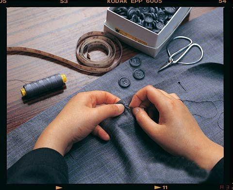 w.chan & sons都延续着红帮裁缝传统的制衣工艺