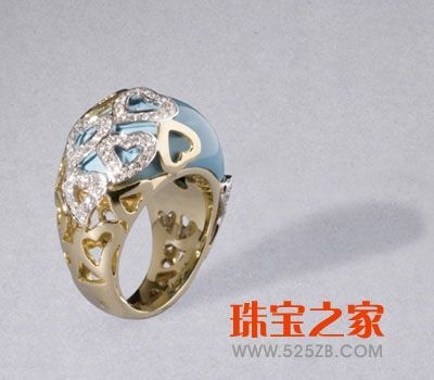 心形珠宝设计图
