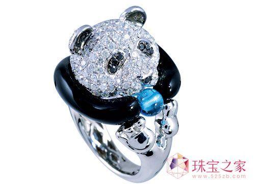 设计师为你打造奇趣动物戒指