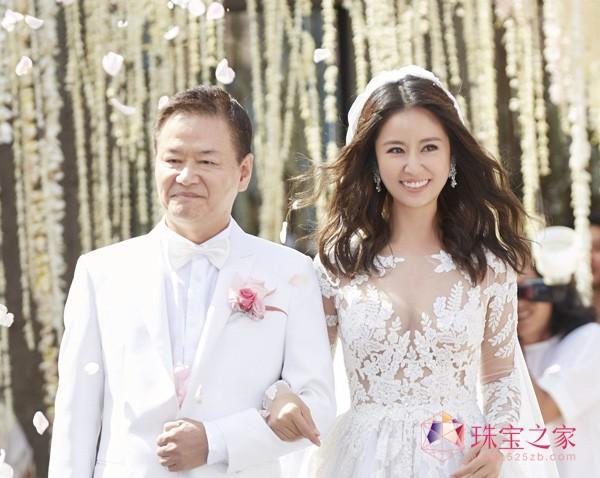 林心如霍建华大婚 在巴厘岛宝格丽度假村举行图片